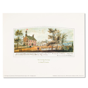 Harrison Mansion Print
